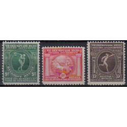 Belgium 1920 n° 179/81** MNH