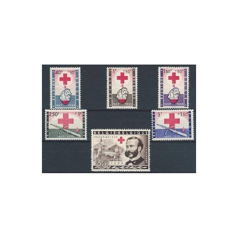 Belgium 1959 n° 1096/01** MNH