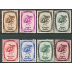 Belgium 1938 n° 488/95** MNH