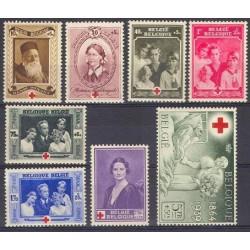 Belgium 1939 n° 496/03** MNH