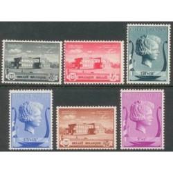 Belgium 1940 n° 532/37** MNH