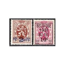 Belgium 1931 n° 315/16** MNH