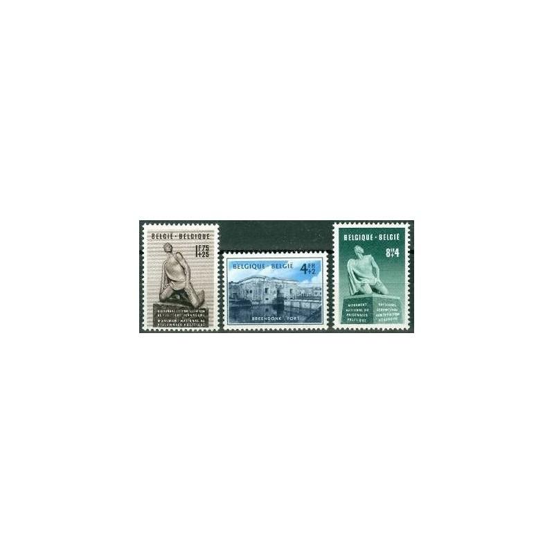 Belgium 1951 n° 860/62** MNH