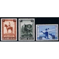 Belgium 1954 n° 938/40** MNH
