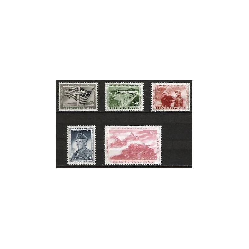 Belgium 1957 n° 1032/36** MNH