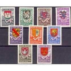 Belgium 1940 n° 538/46** MNH