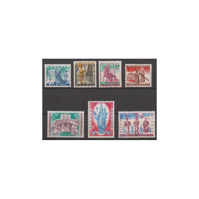 Belgium 1958 n° 1082/88** MNH