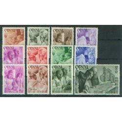 Belgium 1941 n° 556/67** MNH