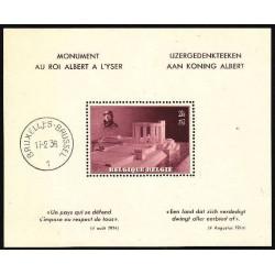 Belgium 1938 n° BL8** MNH