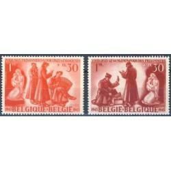 Belgium 1943 n° 623/24** MNH