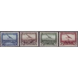 Belgium 1930 n° PA1-4** MNH