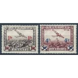 Belgium 1935 n° PA6-7** MNH
