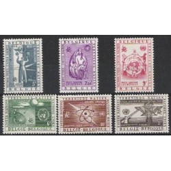 Belgien 1958 n° PA30-35**...