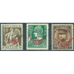 Belgium 1932 n° S16-18** MNH