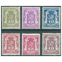Belgium 1946 n° S36-41** MNH