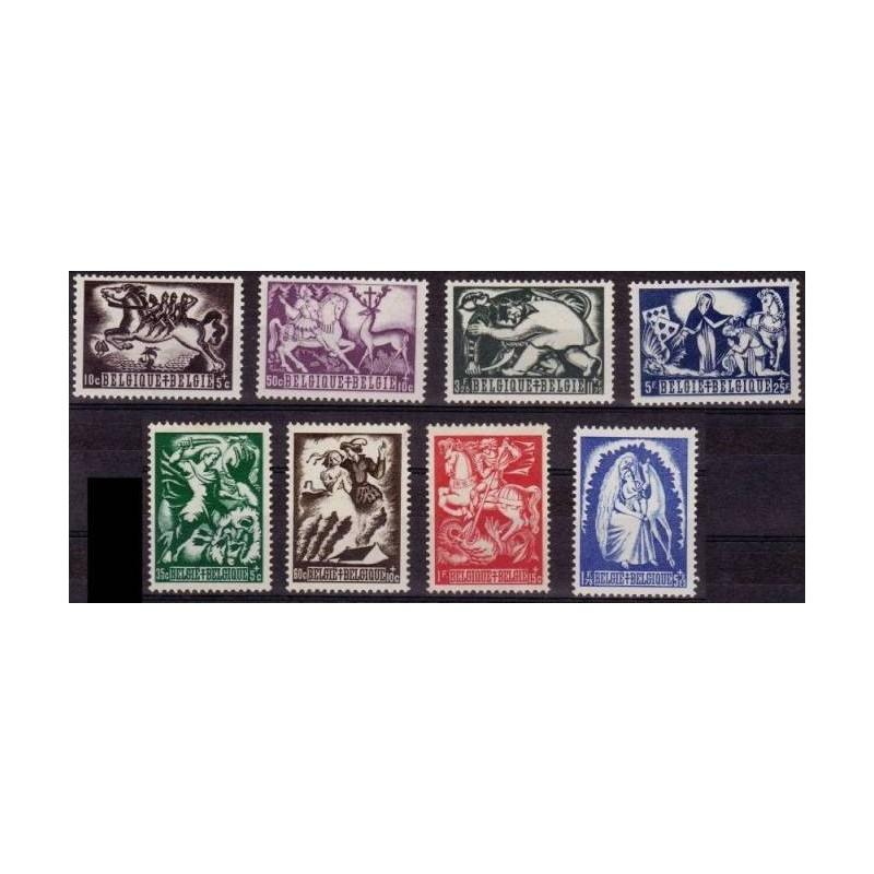 Belgium 1944 n° 653/60** MNH