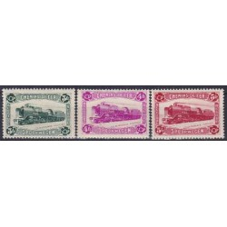 Belgium 1934 n° TR175-77** MNH