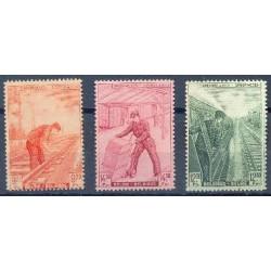 Belgium 1942 n° TR260-62** MNH