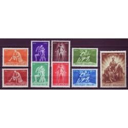 Belgium 1945 n° 701/09** MNH