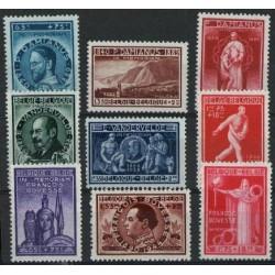 Belgium 1946 n° 728/36** MNH