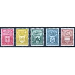 Belgium 1946 n° 743/47** MNH
