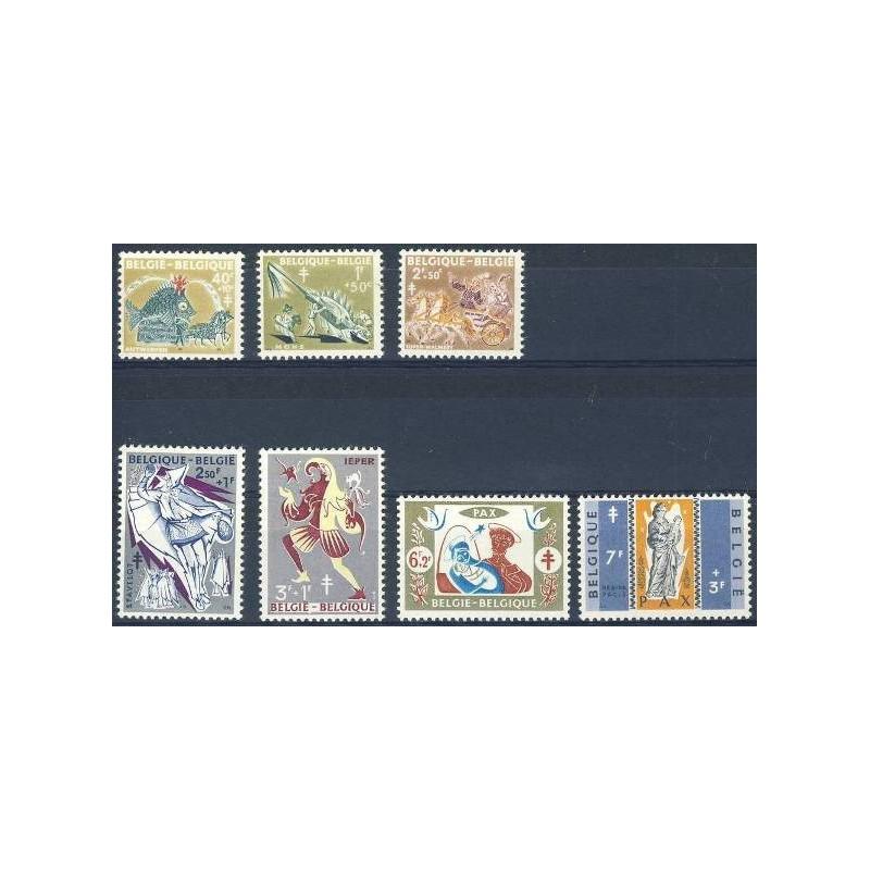 Belgium 1959 n° 1114/20** MNH