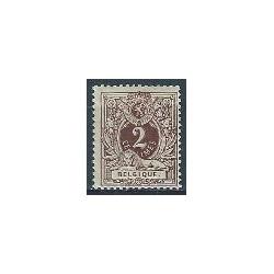 Belgium 1888 n° 44** MNH