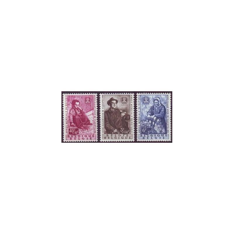 Belgium 1960 n° 1125/27** MNH