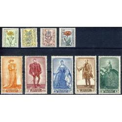 Belgium 1949 n° 814/22** MNH