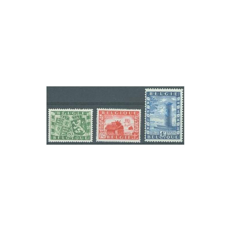Belgium 1950 n° 823/25** MNH