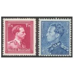 Belgium 1950 n° 832/33** MNH