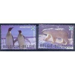 Belgium 2009 n° 3884/85** MNH