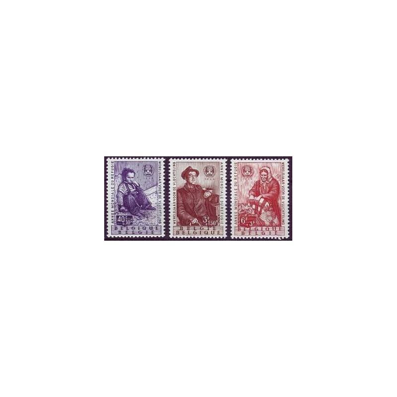 Belgium 1960 n° 1128/30** MNH
