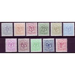 Belgium 1951 n° 849/59** MNH