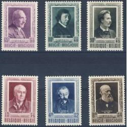 Belgium 1952 n° 892/97** MNH