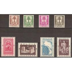 Belgium 1952 n° 900/07** MNH