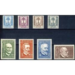 Belgium 1953 n° 930/37** MNH