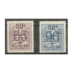 Belgium 1954 n° 941/42** MNH