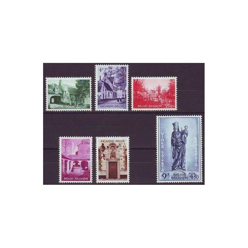 Belgium 1954 n° 946/51** MNH