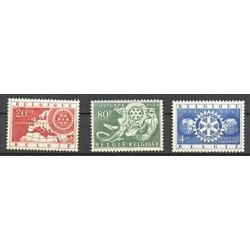 Belgium 1954 n° 952/54** MNH