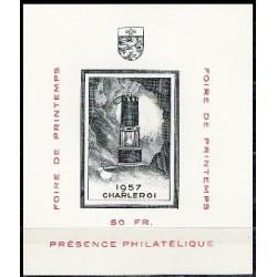 Belgium 1957 n° E74** MNH