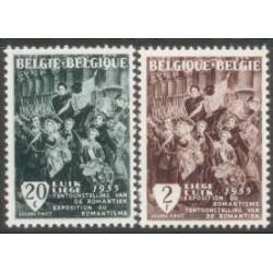 Belgium 1955 n° 971/72** MNH
