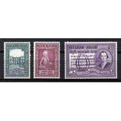 Belgium 1956 n° 987/89** MNH