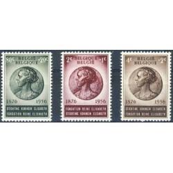 Belgium 1956 n° 991/93** MNH
