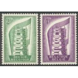 Belgium 1956 n° 994/95** MNH