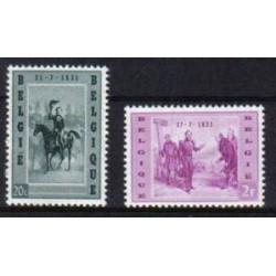 Belgium 1957 n° 1020/21** MNH