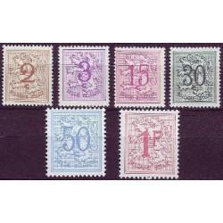 Belgium 1957 n° 1026A/27B** MNH