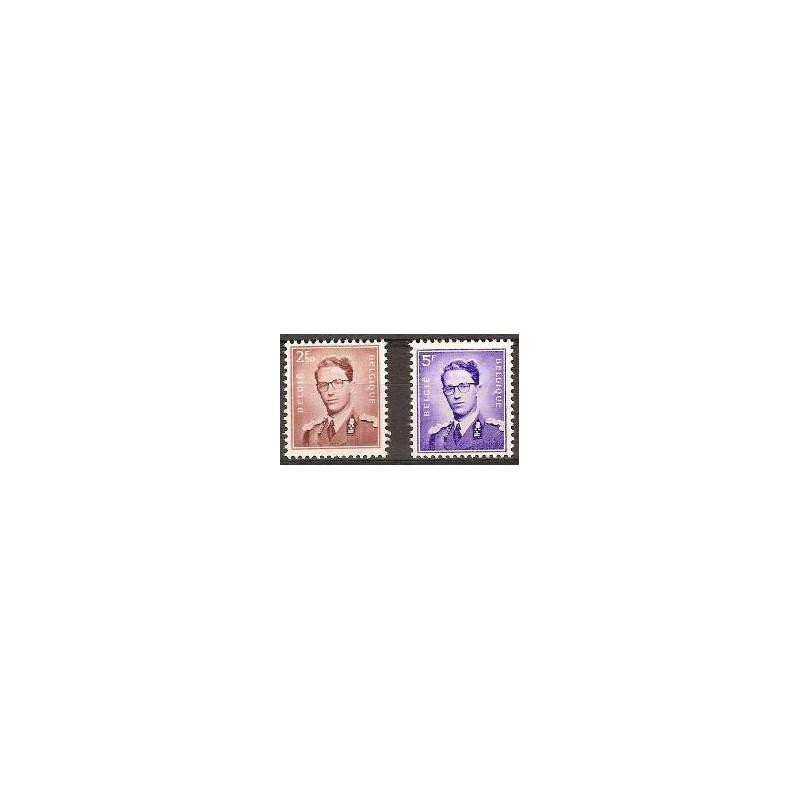 Belgium 1957 n° 1028/29** MNH