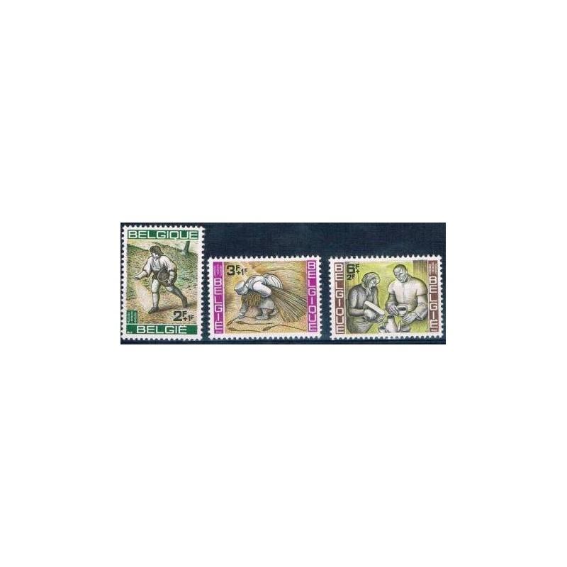Belgium 1963 n° 1243/45** MNH