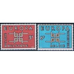 Belgium 1963 n° 1260/61** MNH